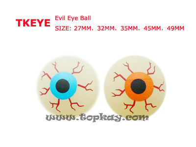 topkay:TKEYE-Evil eye bouncy ball