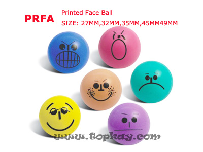 topkay:PRFA-Printed Face Ball
