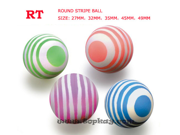 topkay:RT-Round Stripe Ball